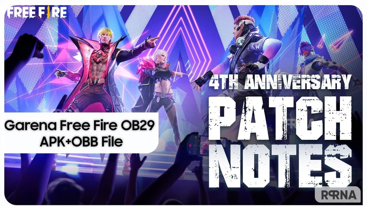 Free Fire OB29 APK